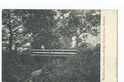 Herefordshire printed PPC by Tilley of  Hardwicke Bridge Colwall PU 1909