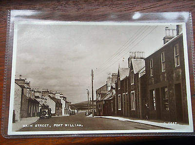 Port William Main Street Unused Postcard