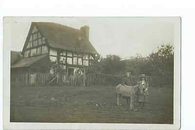 Herefordshire RP by Tilley of a  cottage said to be at Colwall PU 1906