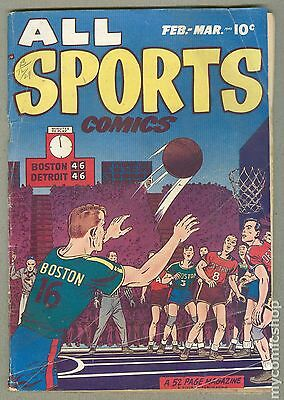 All Sports Comics (1948) #3 GD- 1.8
