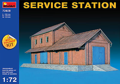 MINIART #72028 Service Station in 1:72
