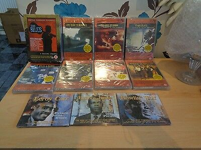 14 Martin Scorsese Dvd's + 3 Blues Cd's-Bnwt