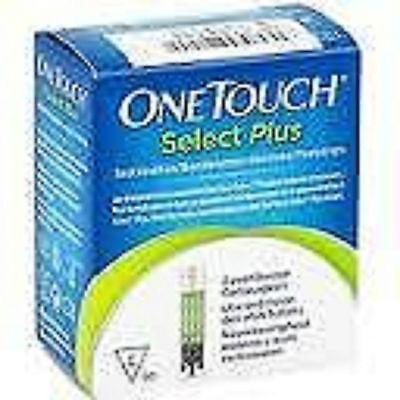 One Touch Select Plus Test Strips 02/2018