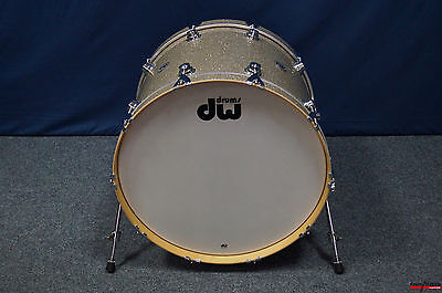 """DW USA Collector's Series Finish Ply 24x18"""" Bassdrum in """"Broken Glass"""""""