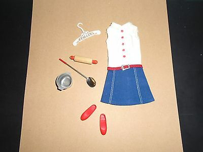 VINTAGE SKIPPER Cookie Time FASHION #1912 1965 Tagged  Very Clean