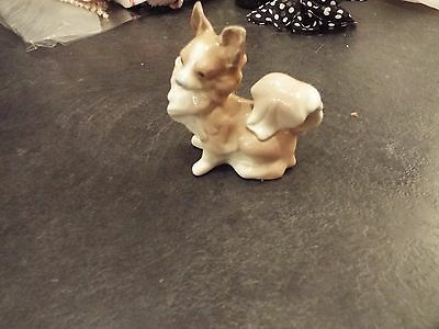 "Lladro Porcelain Papillon ""Small Dog"" Figurine"