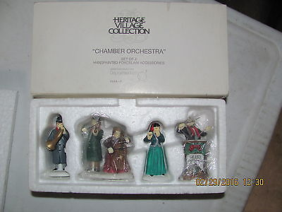 Dept56: Heritage Village Collection:Chamber Orchestra #58840