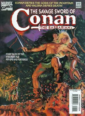 Savage Sword of Conan (1974 Magazine) #213 FN