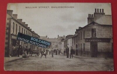 J.A.COLEMAN Postcard POSTED 1924 WILLIAM STREET BALLIEBOROUGH Co.CAVAN IRELAND