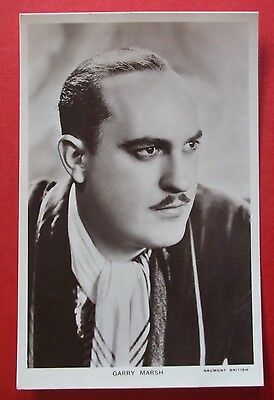 FILM STAR ACTOR PICTUREGOER No.996 Postcard c.1940 GARRY MARSH