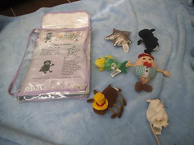 nursery rhymes fimnger puppets.