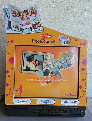 Borne Tactile Kis Photo Book pour développement Photo Commerce photographe