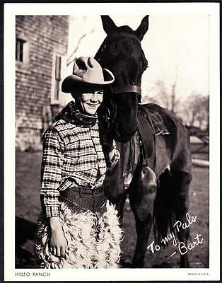 Bart H-BAR-O Rangers Radio Club 1930s Litho Photo