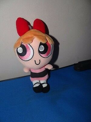 "Warner Brothers Powerpuff Girls Blossom Plush 6"" From 2001"