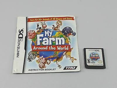 My Farm Around the World (Nintendo DS, 2009) with Manual