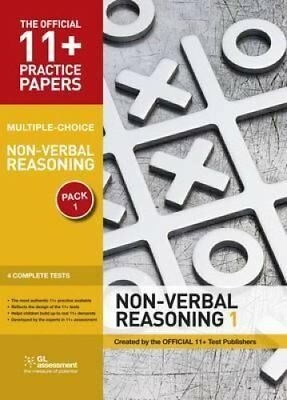 11+ Practice Papers, Non-verbal Reasoning Pack 1, Multiple Choi... 9780708719862