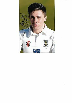 Durham Ccc - Paul Coughlin (Hand Signed)