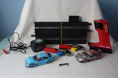 Tecnitoys Scalextric 2 Remote Controls, 2 Cars Evo1 R/c Station Plus Power Pack