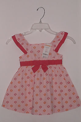 NWT Gymboree Girl Spring/Summer Cotton Sleeveless Dress Size 18 - 24 Months