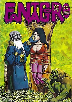 Fantagor-#4-First Printing-1972-Richard Corben-Full Color-Adults Only Comix