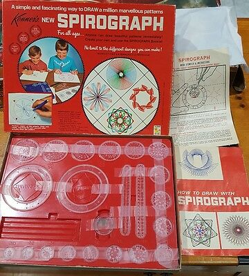 Kenner Spirograph 1968 Drawing Set - Vintage