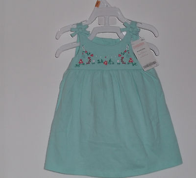 NWT Gymboree Baby Girl Summer Cotton  Dress With Diaper Cover Size 0 - 3 Months