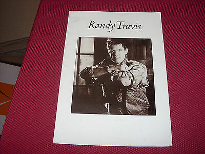 "Randy Travis: Forever & Ever, Amen   7"" in A4 Press Pack with photo/Insert"