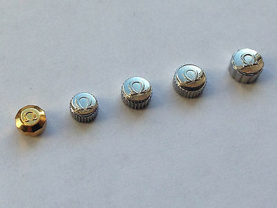 A Lot Of 5 X Omega Watch Crown Keys,various Sizes (Oc1)