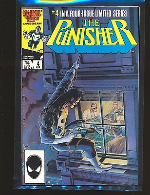 Punisher Limited Series # 4 - Mike Zeck cover & art VF Cond.