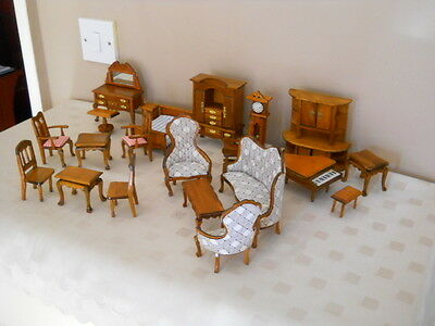 Wood Furniture for Dolls House