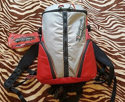 Manfrotto Off Road Red Grey Backpack
