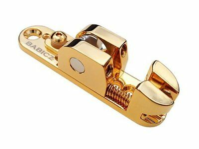 Babicz Full Contact Hardware FCH1SRGD Solo Rail Narrow Bass Saddle - GOLD