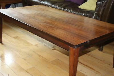Vintage Mid Century Beautiful Danish Rosewood Coffee Table St.albans