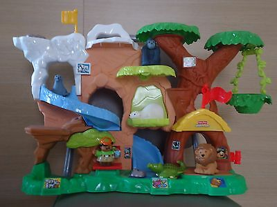 Fisher Price LITTLE PEOPLE Premier âge Zoo + 6 figurines