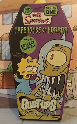 2005 Simpsons Gentle Giant Treehouse of Horror Maggie & Kang green variant toy