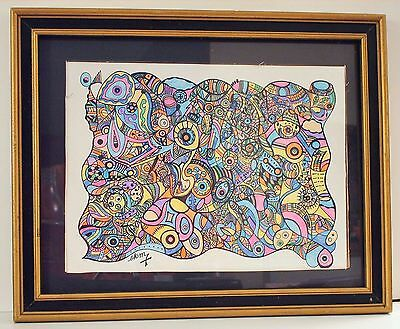"""Ink & Pencil Drawing #38 - Size: 9"""" x 12"""" - Unframed-New / Never Listed Anywhere"""