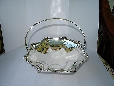 Vintage Silver Plated Fruit Bowl by Viners