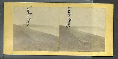 Original Early Stereoview Of Sandown Bay & Culver Cliffs, Isle Of Wight.
