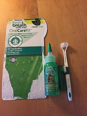 Tropicana Fresh Breath Oral Care Kit For Small Dogs