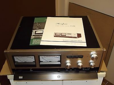 Accuphase P-250 Stereo Power Amplifier Amp with box and manual Serviced