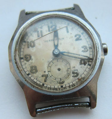 SWISS Wristwatch MIDO LIMITED for parts. Model of 1941. Perpetuum Zentra.