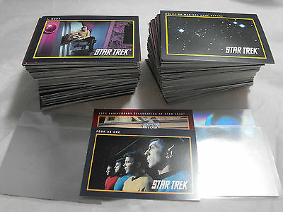 Star Trek 25Th Anniversary Complete Master Set, 310 Cards + Holograms + B1 + B2