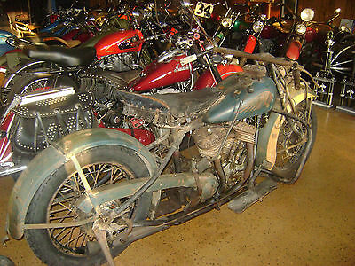 1932 Indian Chief  1932 Indian Chief Motorcycle - Barn Find - 74 cu in - 1200cc