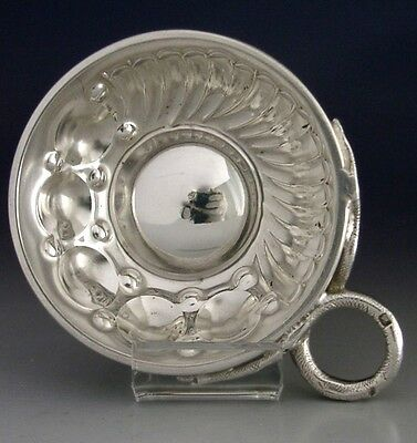 Good Quality French Sterling Silver Wine Taster / Tastevin