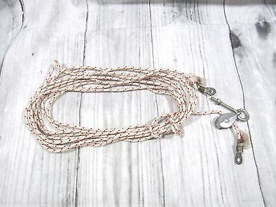 FLAG POLE Rope & Pulley