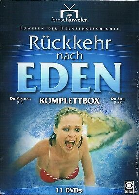 DVD RETURN TO EDEN COMPLETE MINI+TV SERIES BOX Rebecca Gilling Region 2 PAL NEW