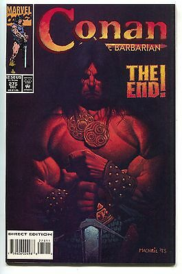 Conan The Barbarian 275 Marvel 1993 NM+ 9.6 Final Issue Colin MacNeil