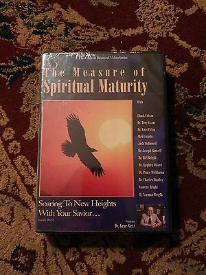 Dr Gene Getz THE MEASURE OF SPIRITUAL MATURITY 3 DVD Set ~New/Sealed~
