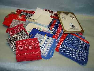 29 Cotton Bandana Biker Hankerchiefs Hanky Hankies Elephant USA Misc