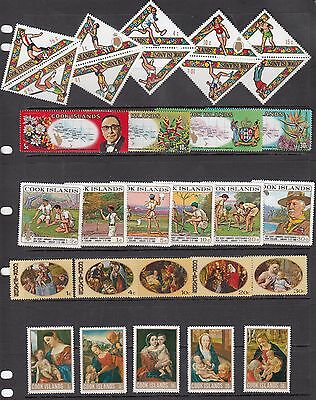 Cook Islands - Page Of Mint Never Hinged In Sets - See Scan!